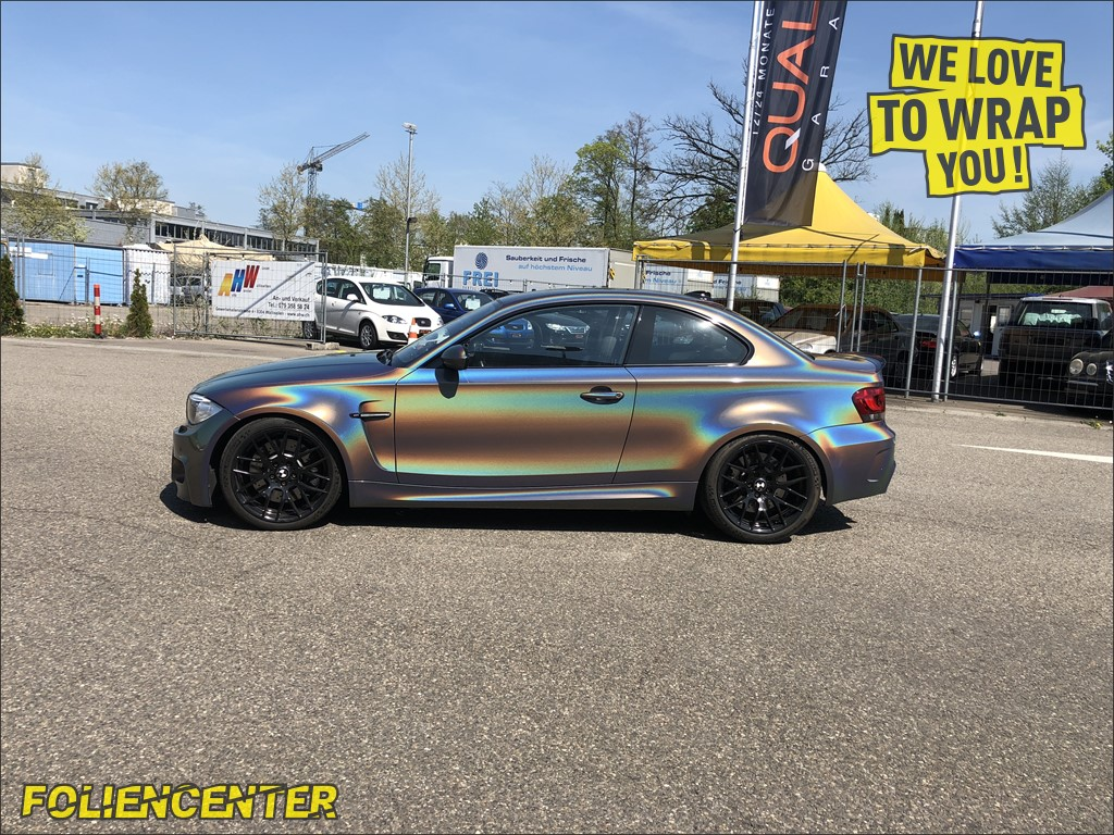 BMW 1erM Psychedelic