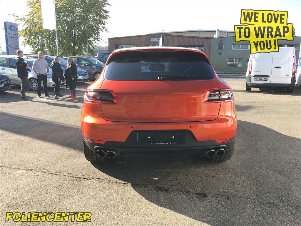Porsche Macan orange-metallic