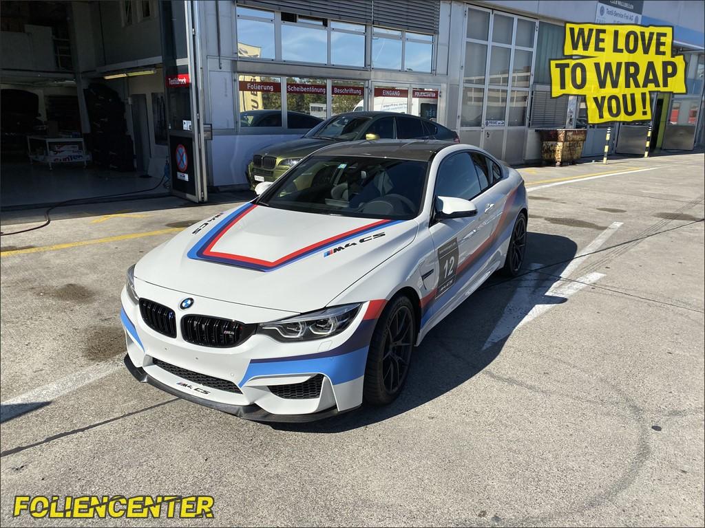 BMW M4 CS GT4 Design