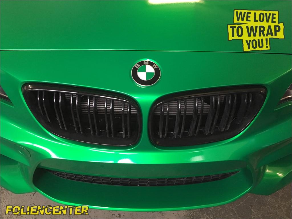 BMW M2 Candy-Grün