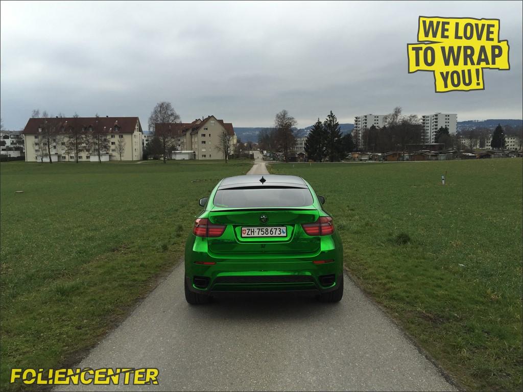 BMW X6 Grün Chrom