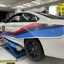 BMW M4 CS GT4 Design